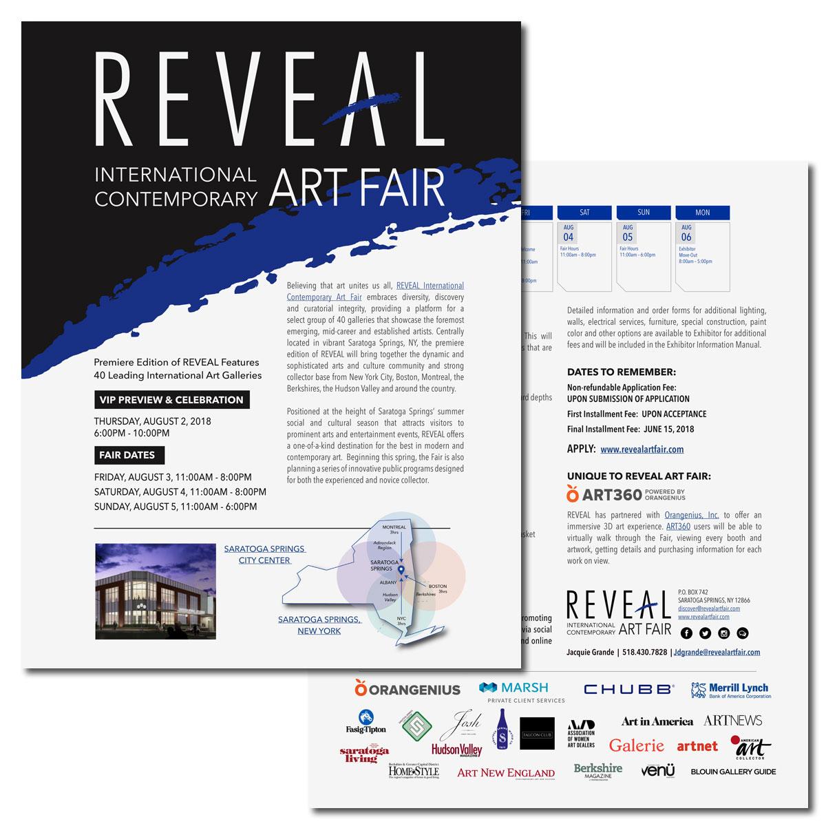 REVEAL Art Fair Exhibitor Details