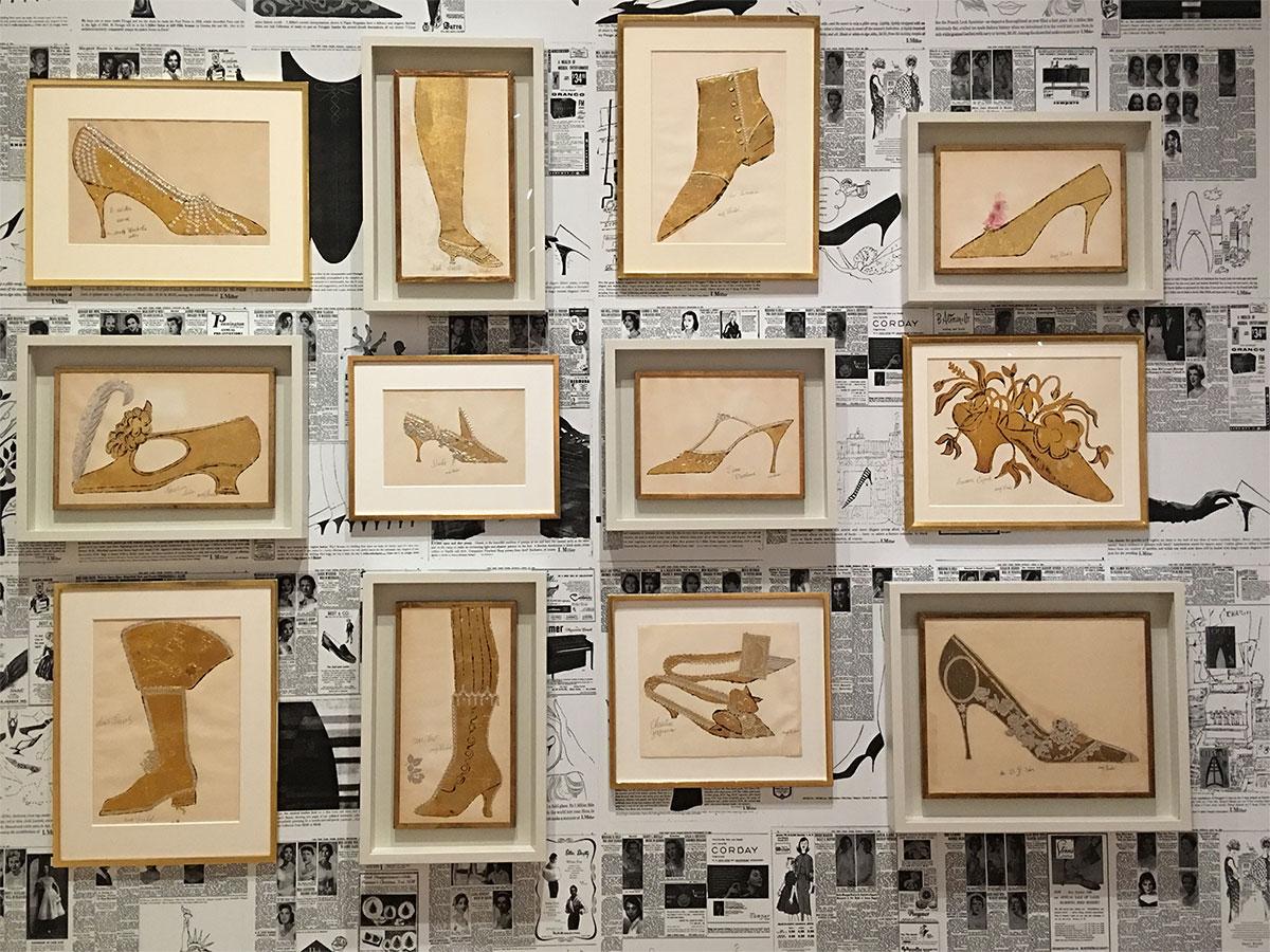 Andy Warhol: Gold Shoe Series