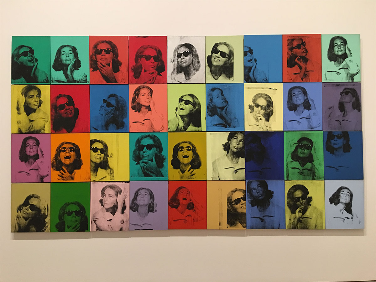 Andy Warhol: Ethel Scull Series