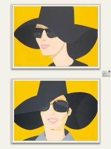 """""""Vivien in Black Hat"""" and """"Ulla in Black Hat"""""""