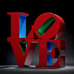 LOVE (Red/Blue/Green)