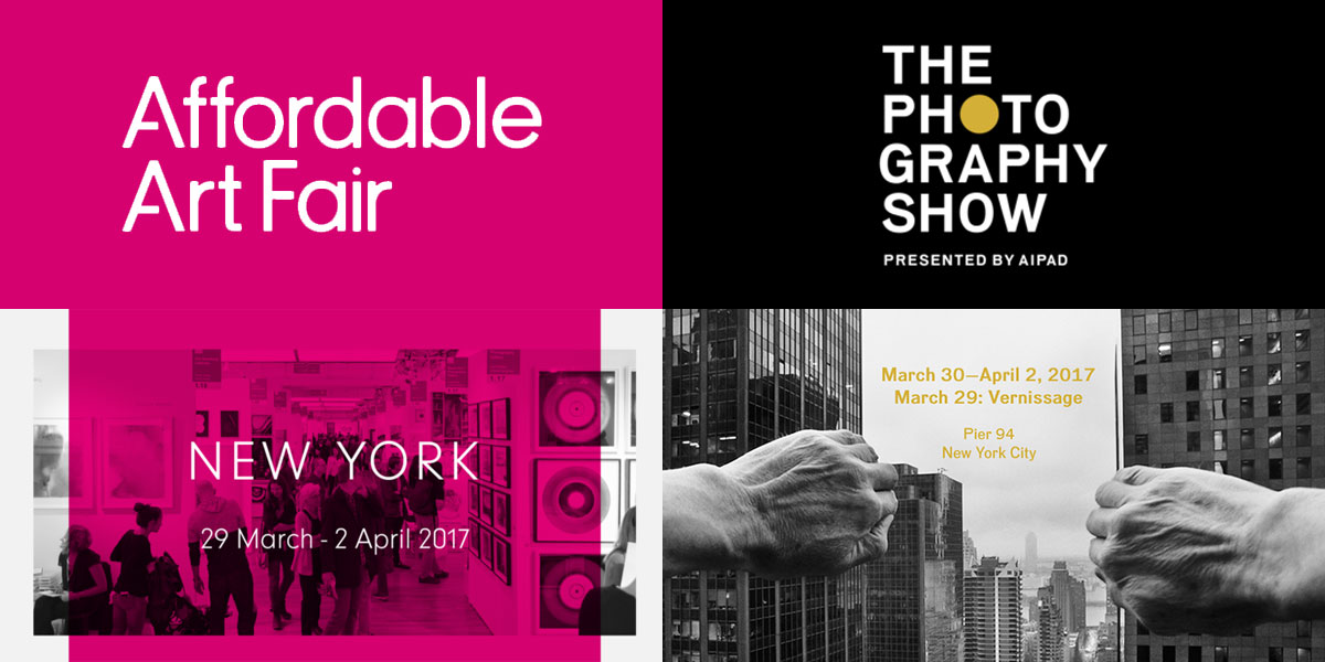 Affordable Art Fair NYC 2017 and The Photography Show