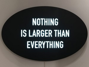 """Nothing Is Larger Than Everything"""