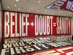 """""""Belief+Doubt"""" (detail 1)"""